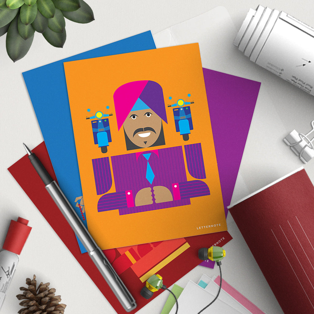 Delhi Notecards (Set Of 2)
