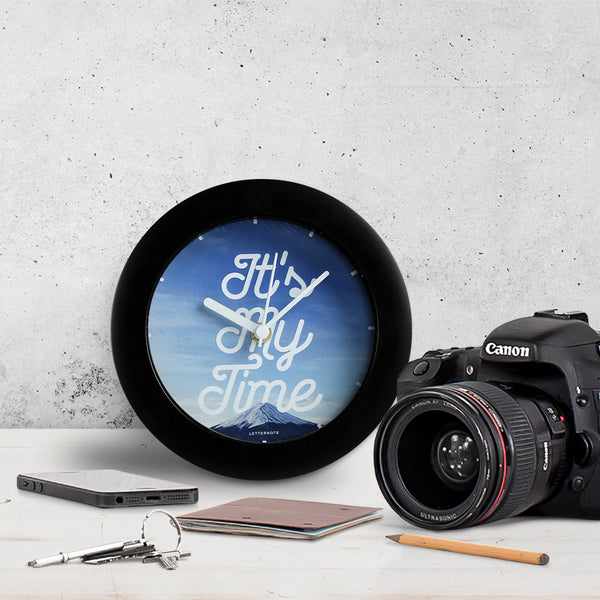 Its my time - Small Clock - LetterNote - 1