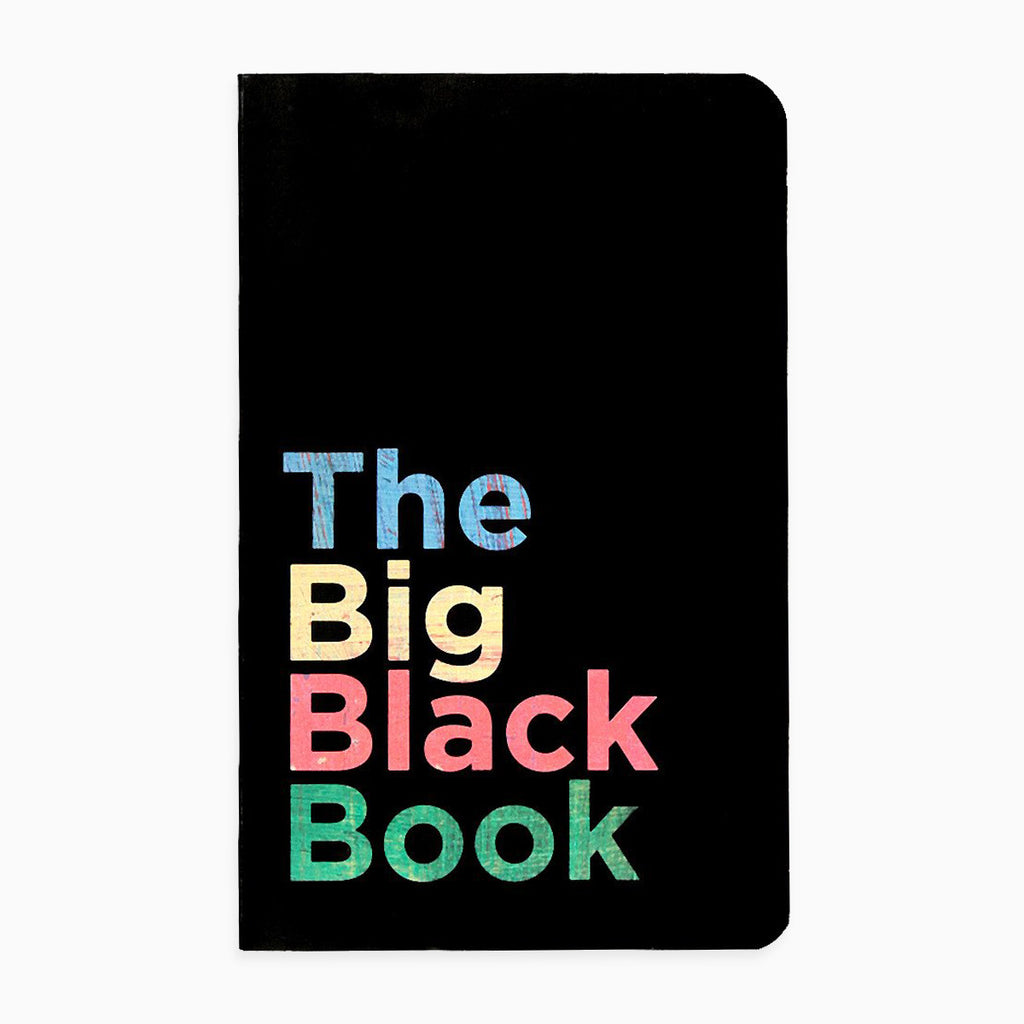 The Big Black Book Vivid NoteBook