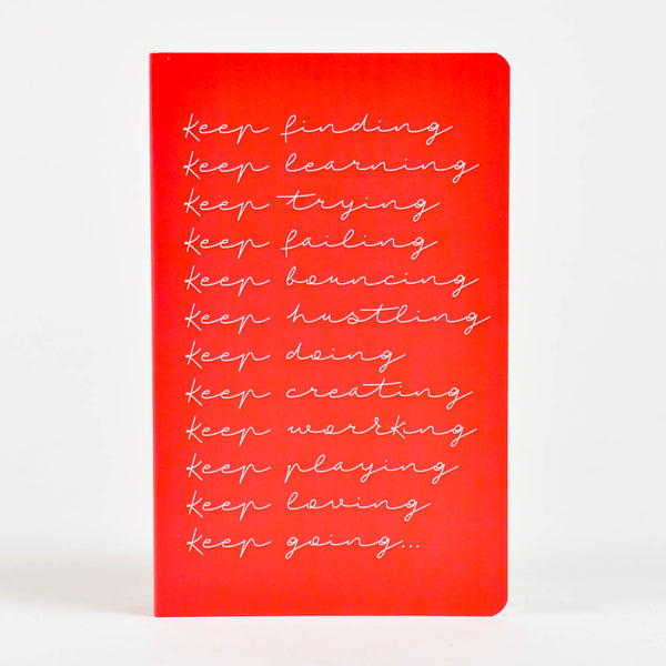 Keep At it Vivid NoteBook