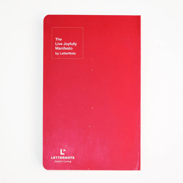 The LetterNote Manifesto Vivid NoteBook