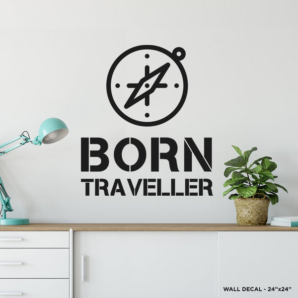 Born Traveller Wall Decal