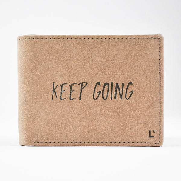 Keep Going Wallet