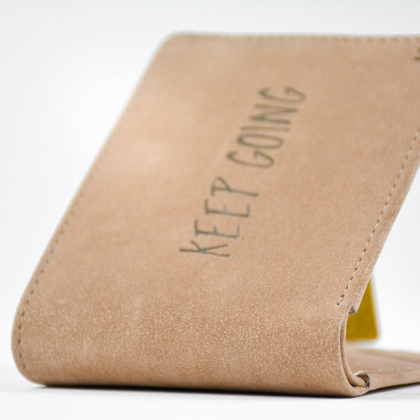 Keep Going Wallet - LetterNote - 2