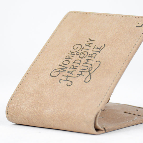 Work Hard Stay Humble Wallet - LetterNote - 2
