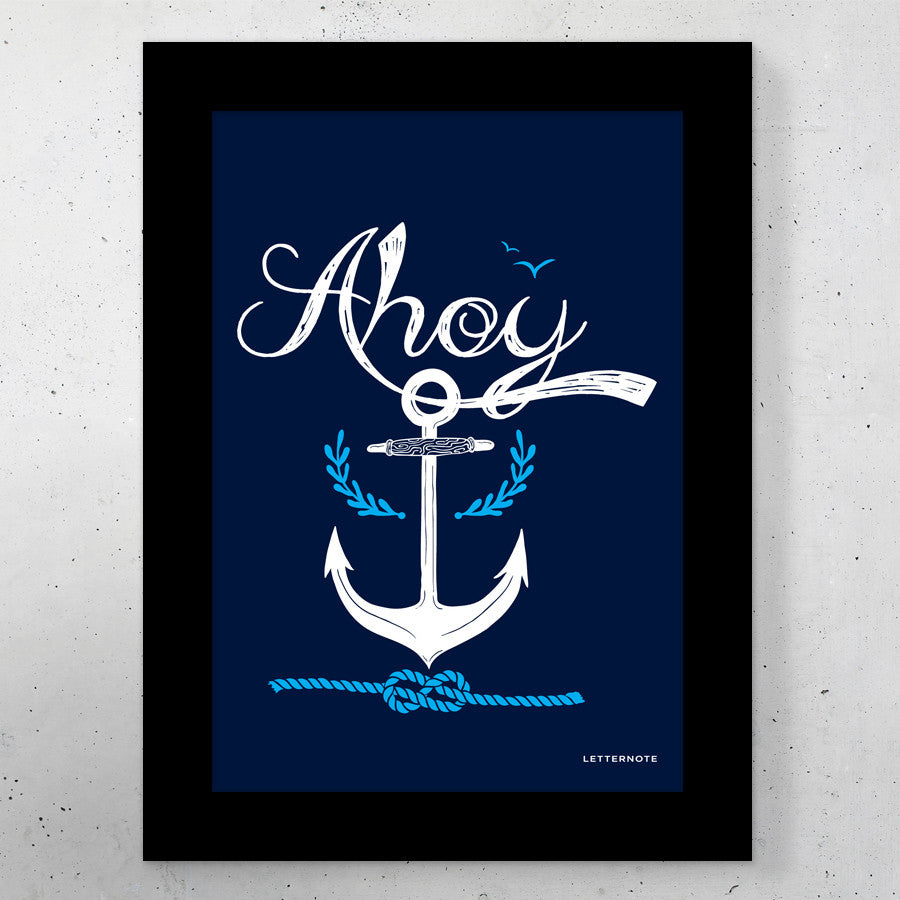 Ahoy Small Frame (5