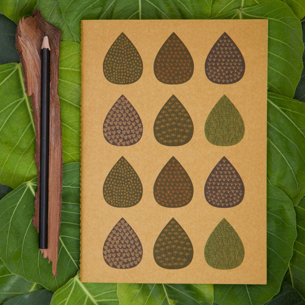 Art Leaf Kraft NoteBook