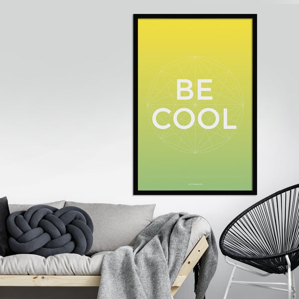 Be Cool Framed Art