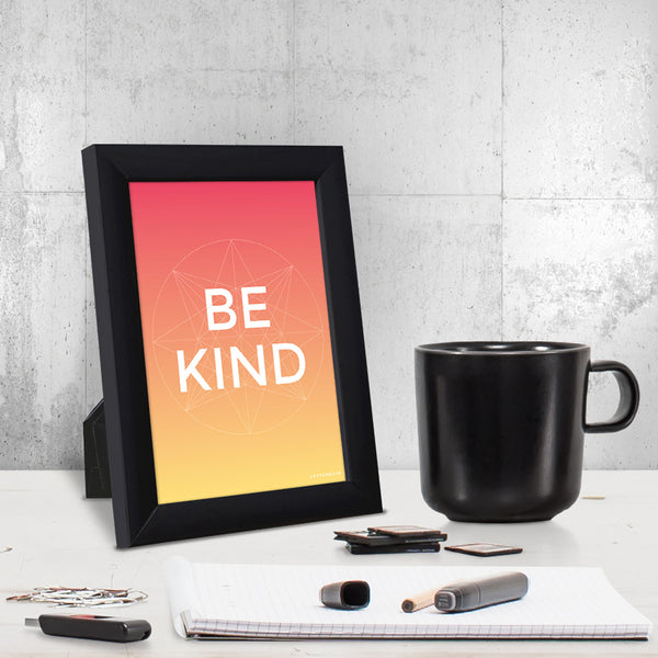 Be Kind Small Frame (5