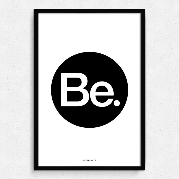 Be Framed Art