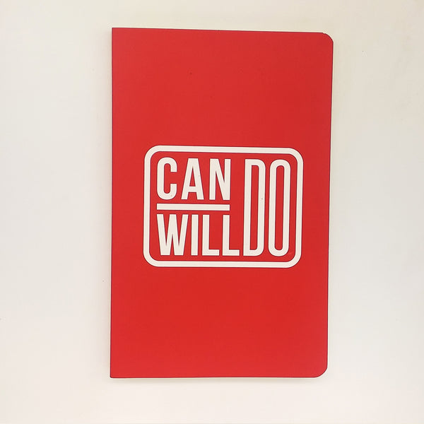 Can Do Will Do Vivid NoteBook