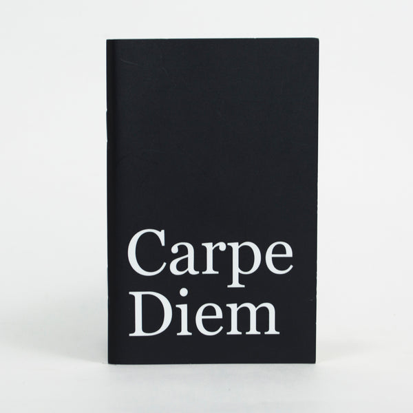 Carpe Diem Pocket Notebook - 3.5 in x 5.5. in