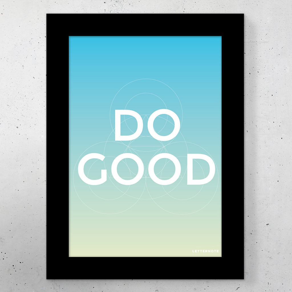 Do Good Small Frame (5