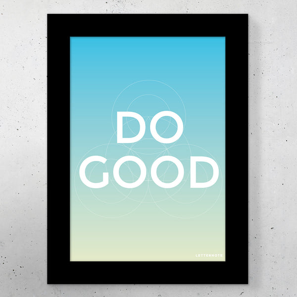 "Do Good Small Frame (5"" x 7"")"