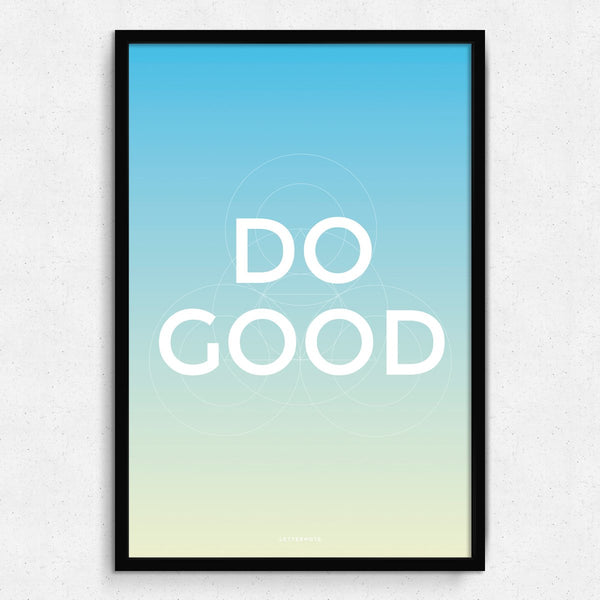 Do Good Framed Art