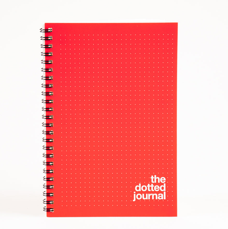 Red Dotted Journal