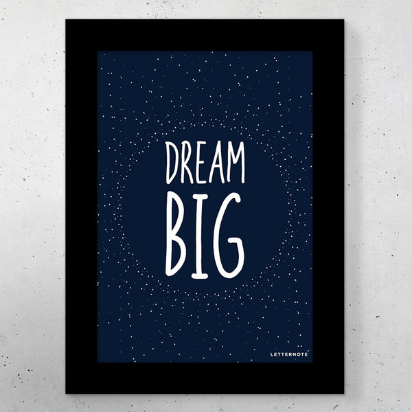 "Dream Big Small Frame (5"" x 7"") - LetterNote - 2"