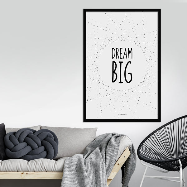 Dream Big Framed Art