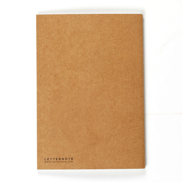 Escape Kraft NoteBook - LetterNote - 2