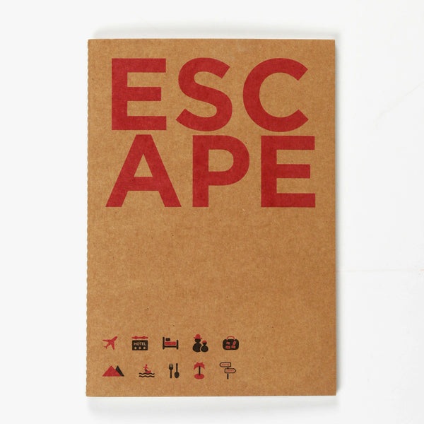 Escape Kraft NoteBook (Set of 2)