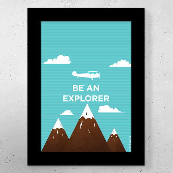 "Explorer Small Frame (5"" x 7"")"