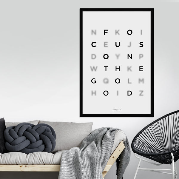 Focus On The Good Framed Art