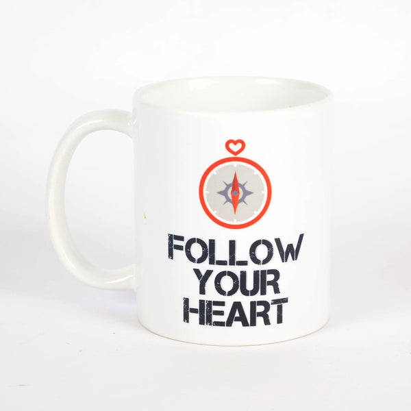 Follow Your Heart Mug