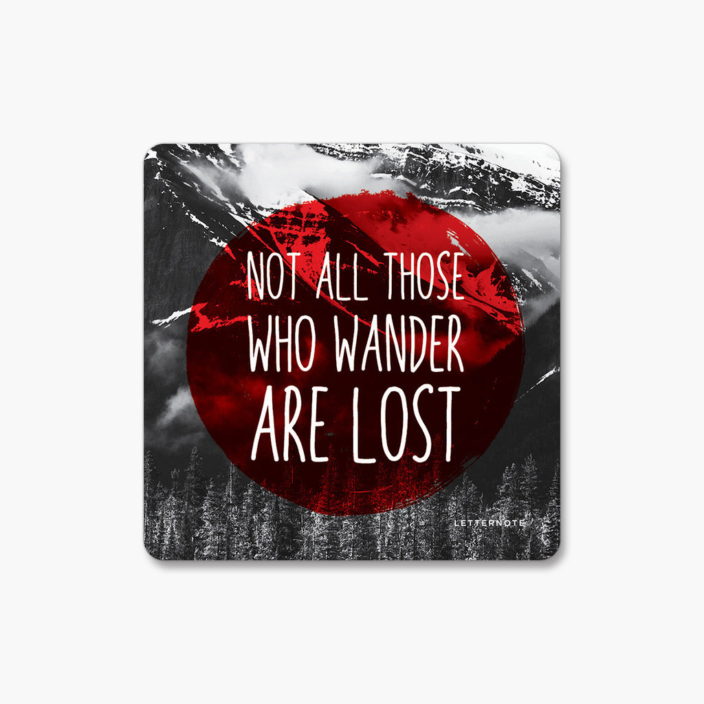 Wanderlust - Fridge Magnet