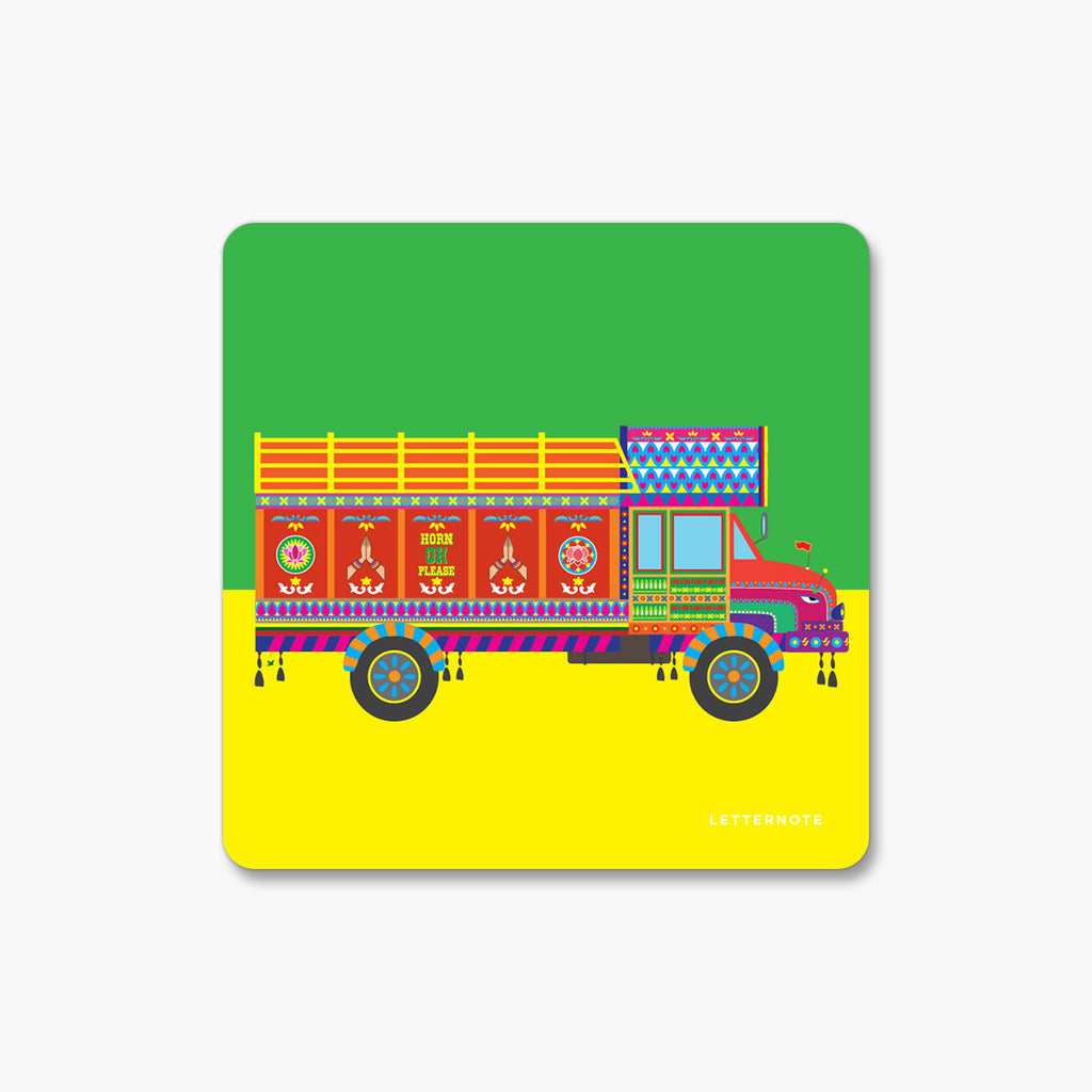 Truck - Fridge Magnet