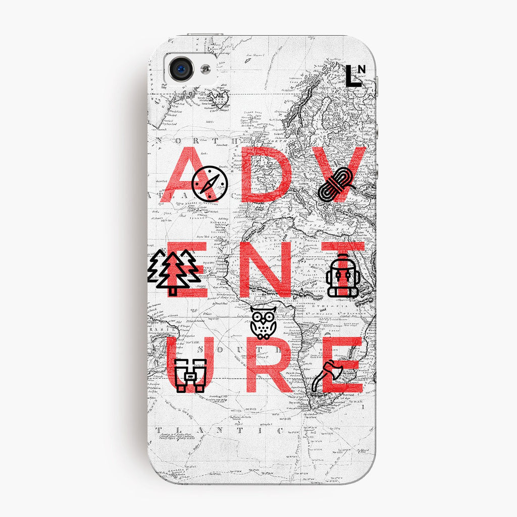 Adventure iPhone 4/4s Cover