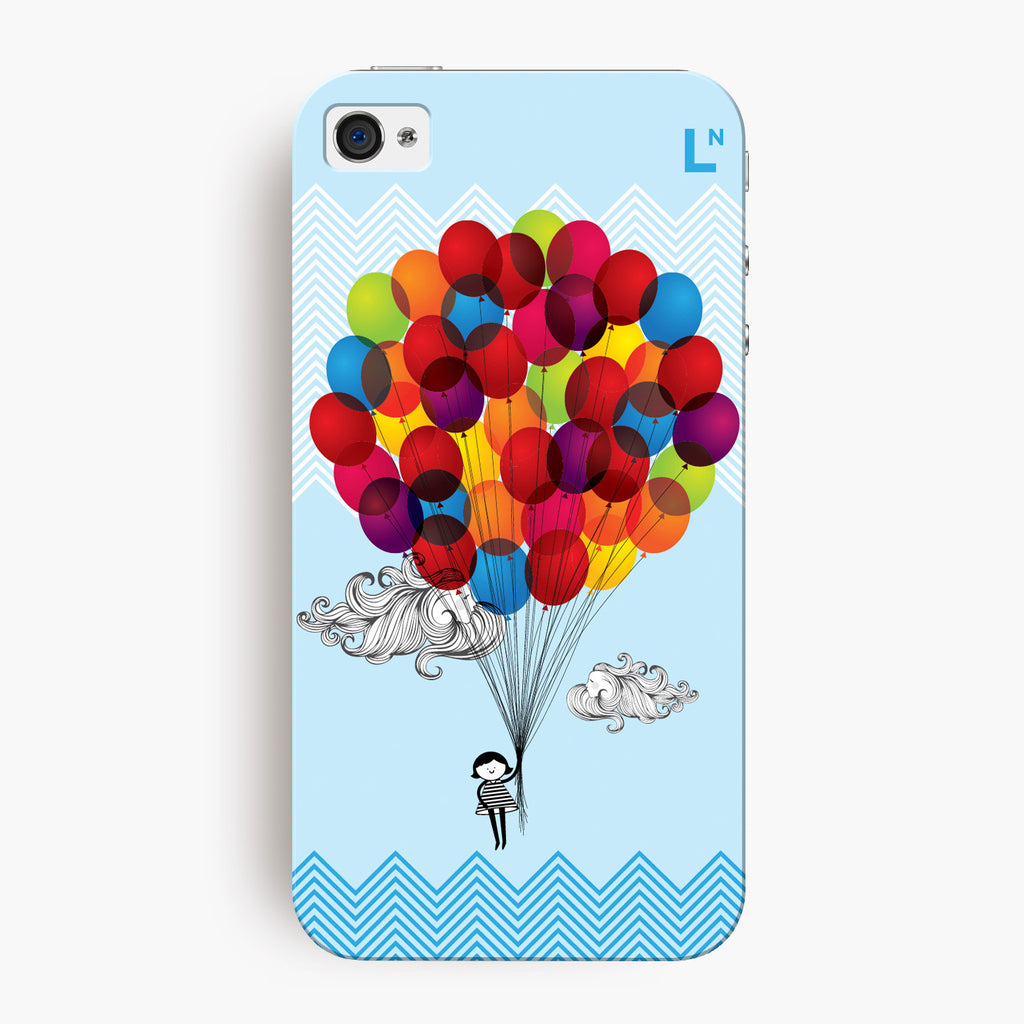 Balloons iPhone 4/4s Cover