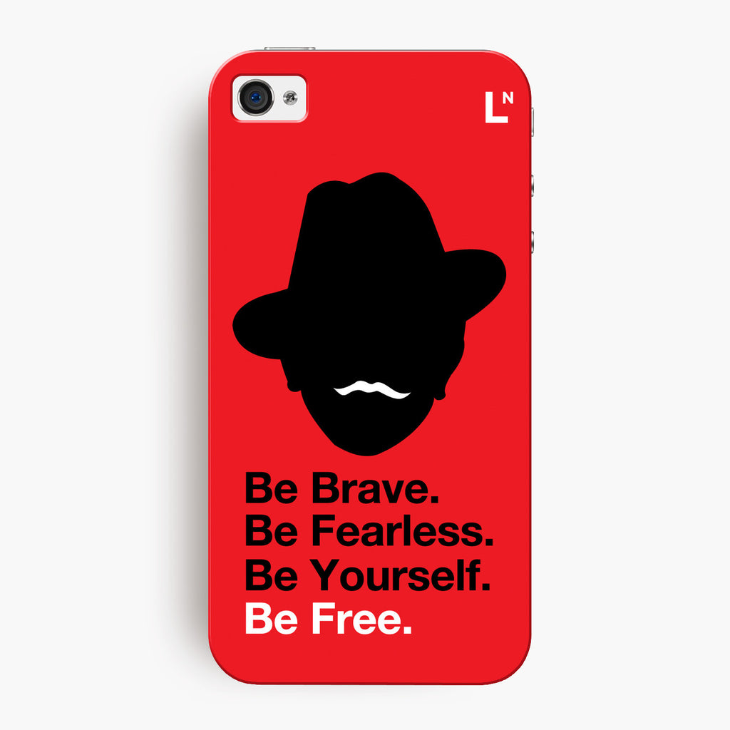 Be Free iPhone 4/4s Cover
