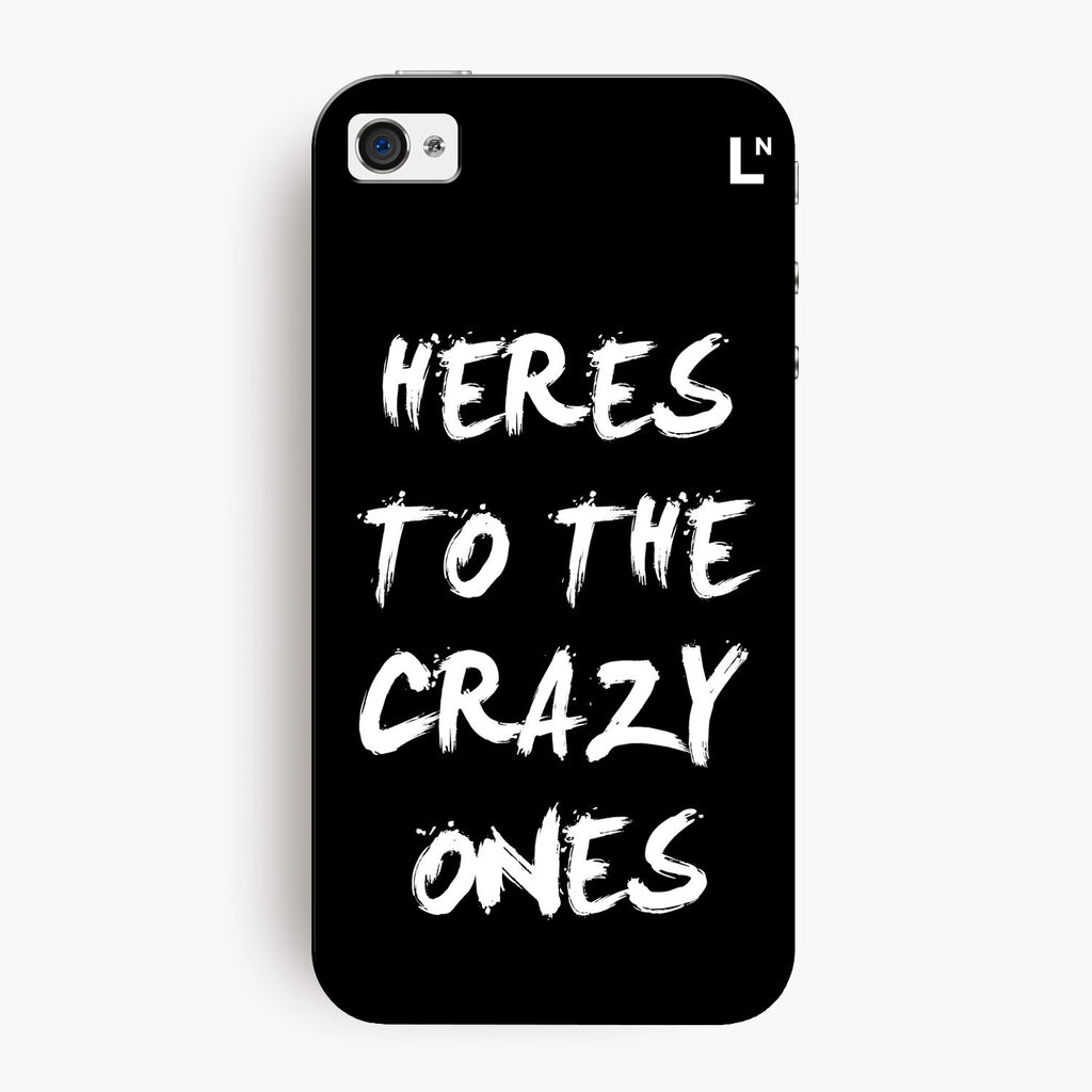 Crazy Ones iPhone 4/4s Cover