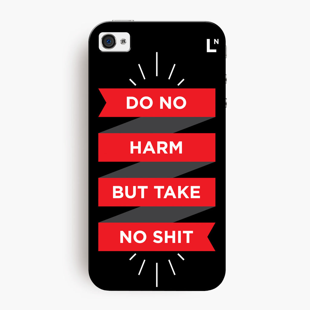 Do No Harm iPhone 4/4s Cover
