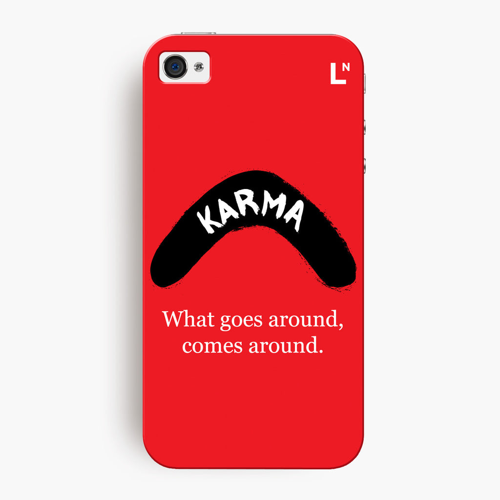 Karma iPhone 4/4s Cover