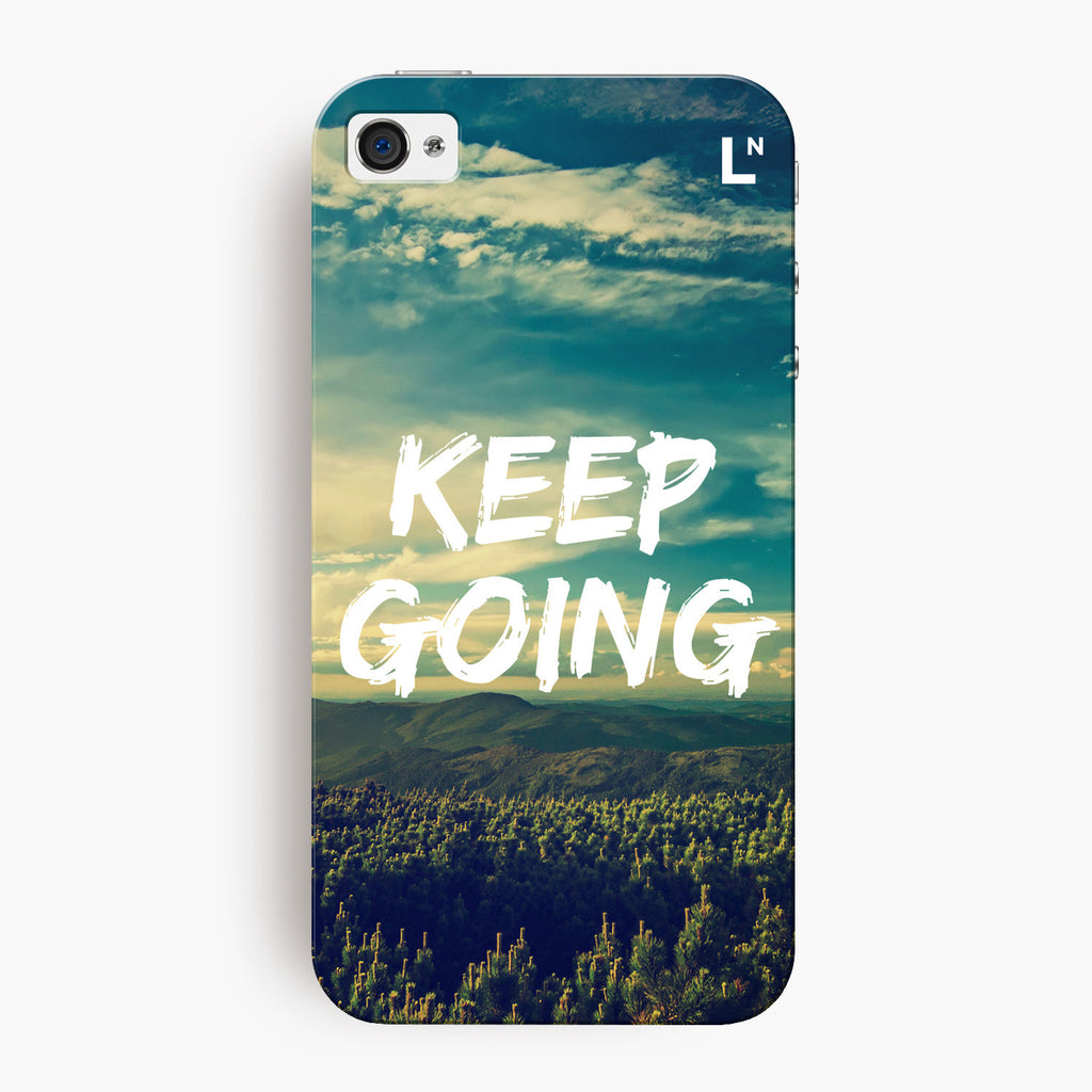 Keep Going iPhone 4/4s Cover