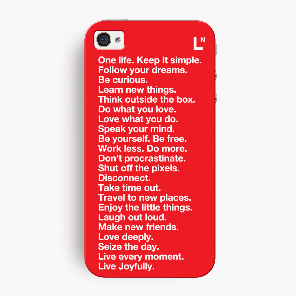 Manifesto iPhone 4/4s Cover