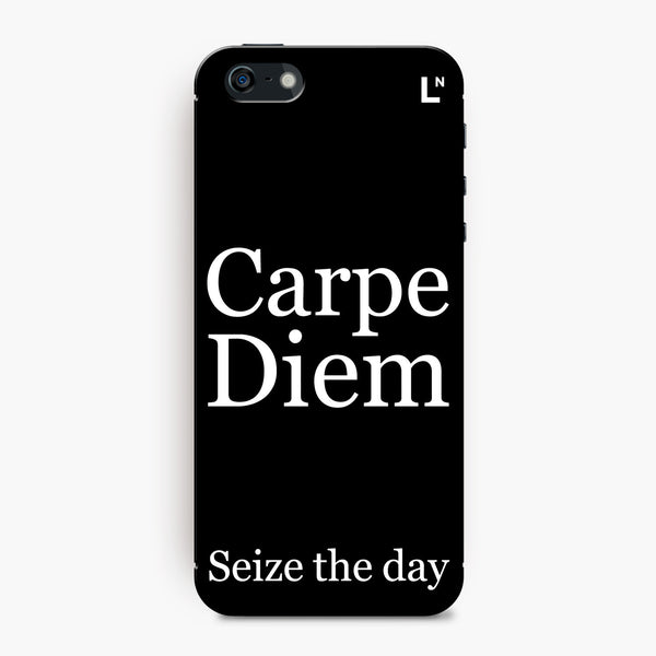 Carpe Diem iPhone 5/5s/5c/SE Cover