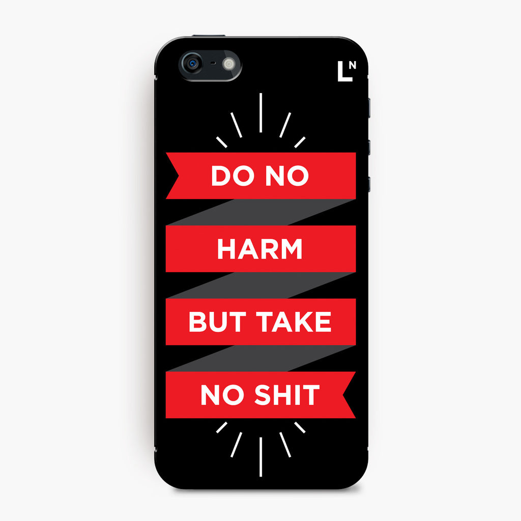 Do No Harm iPhone 5/5s/5c/SE Cover