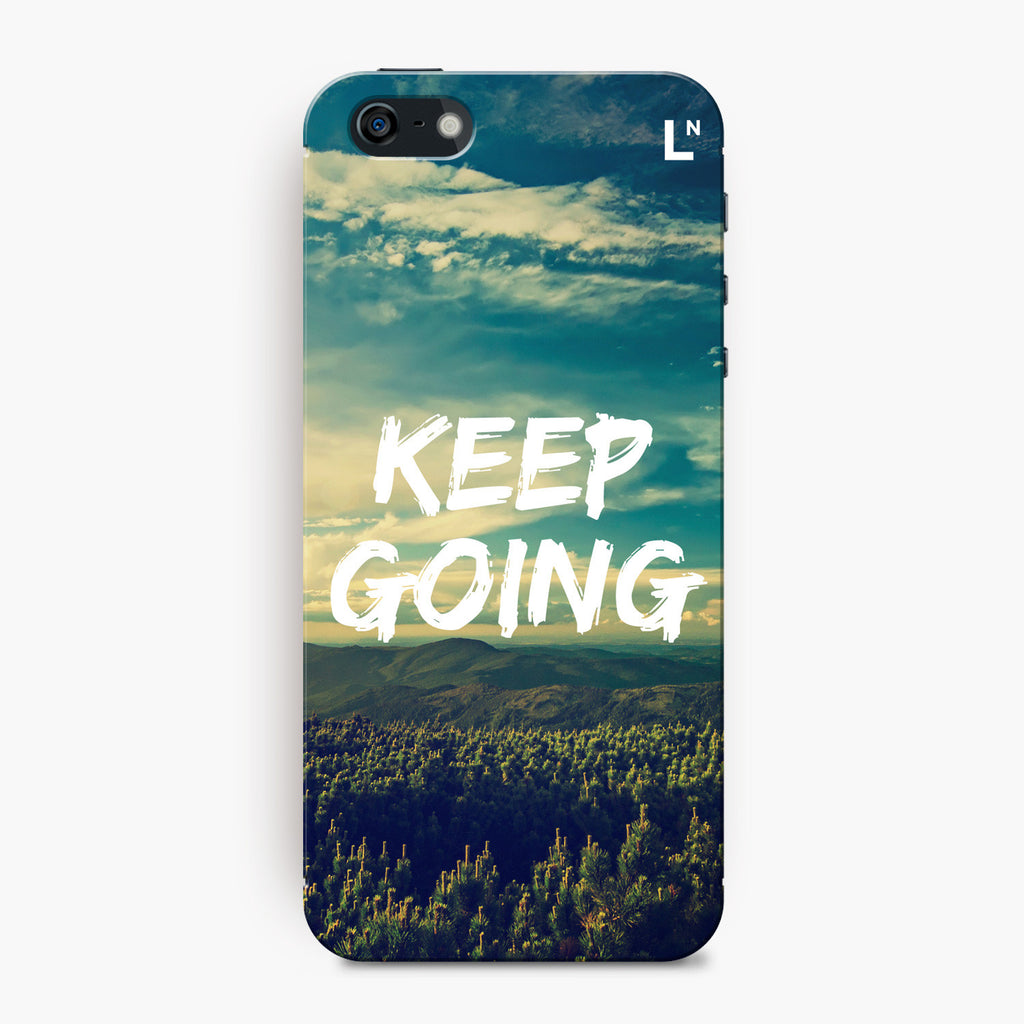 Keep Going iPhone 5/5s/5c/SE Cover