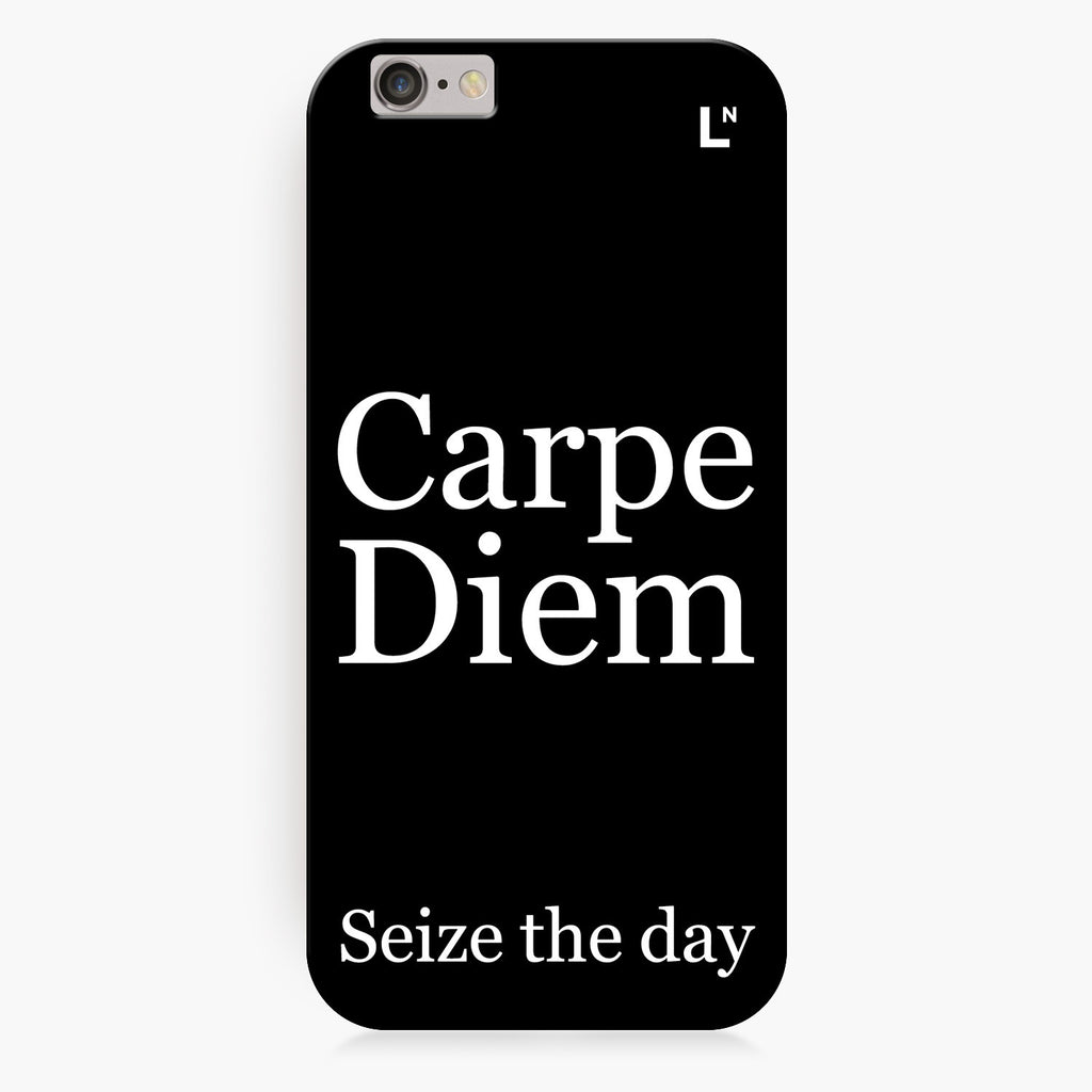 Carpe Diem iPhone 6/6S/6 plus/6s plus Cover
