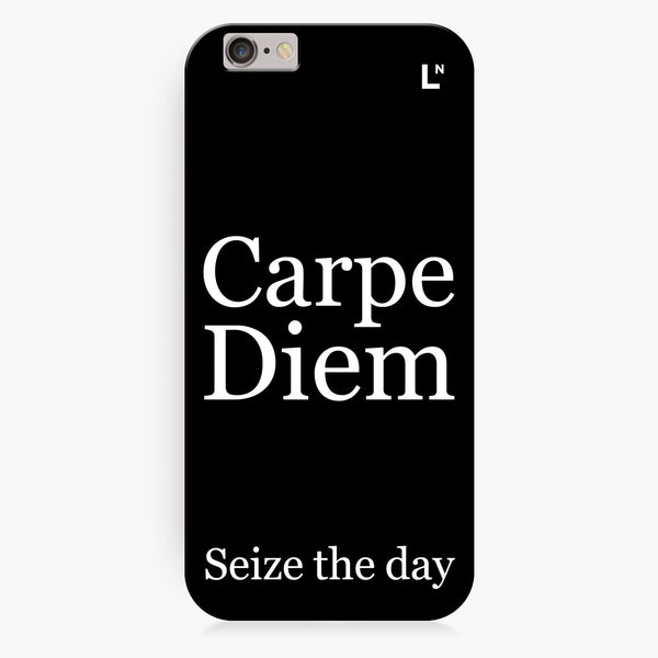 Carpe Diem iPhone 7/7 plus Cover