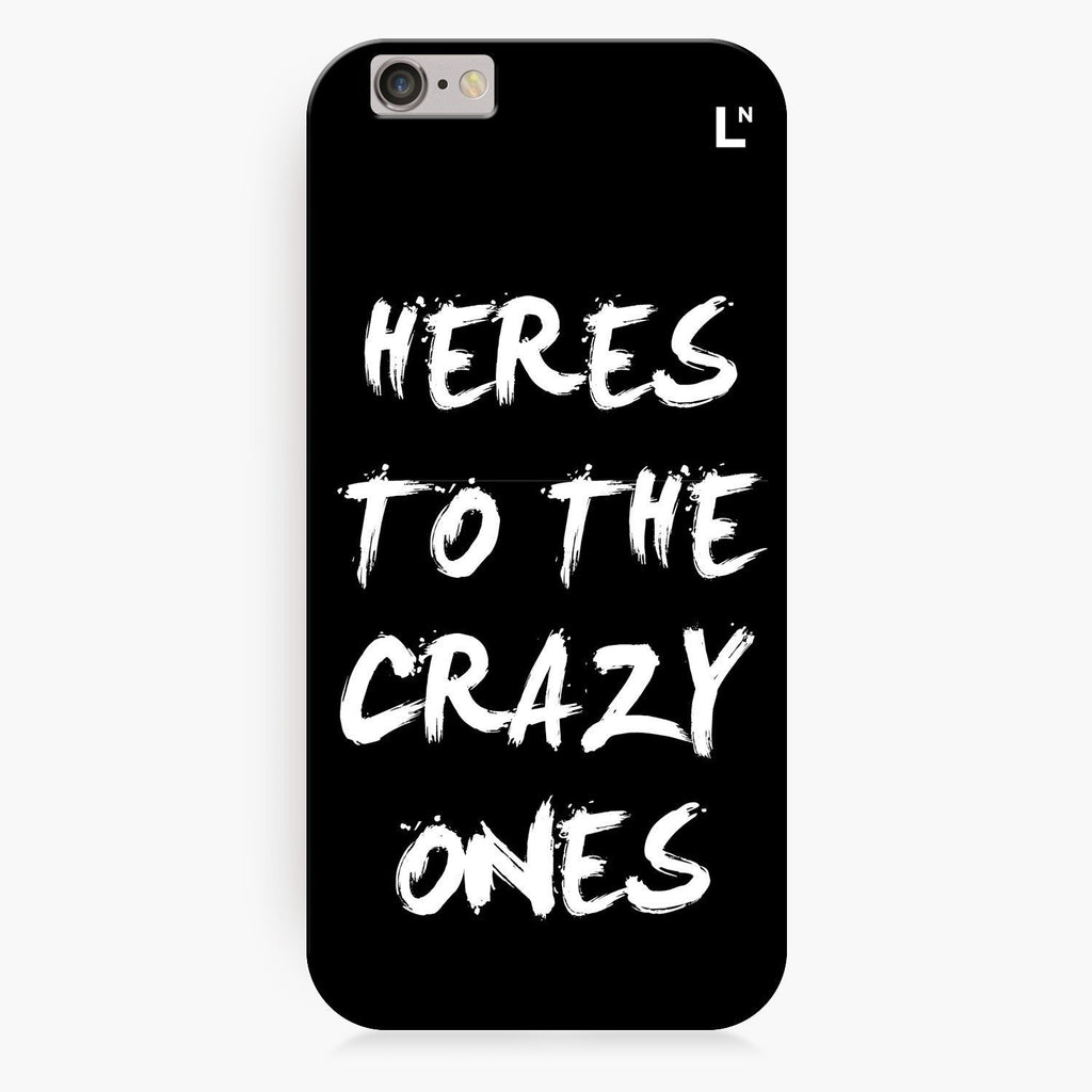 Crazy Ones iPhone 8/8 plus Cover