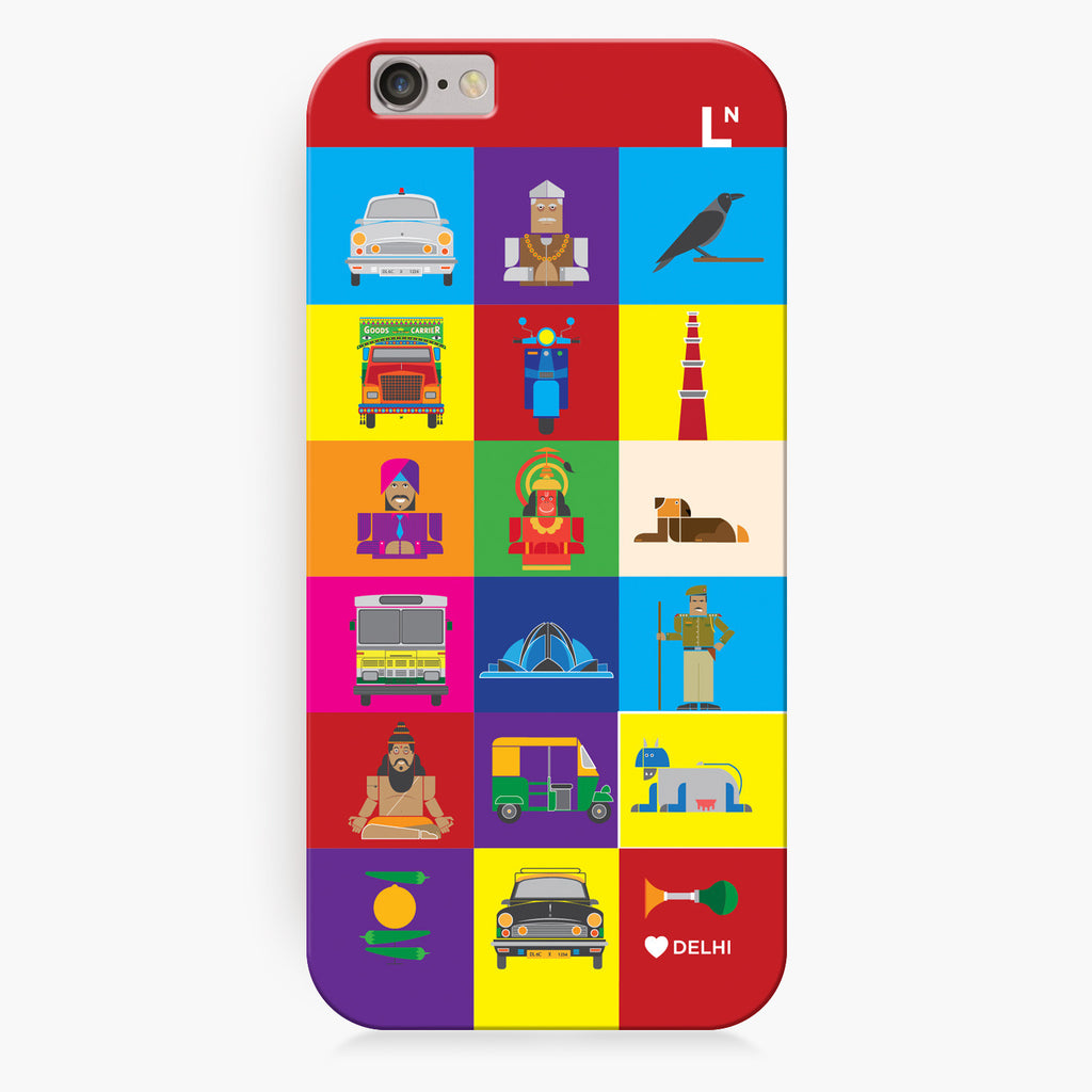 Delhi Icons iPhone 6/6S/6 plus/6s plus Cover