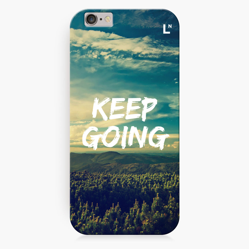 Keep Going iPhone 7/7 plus Cover