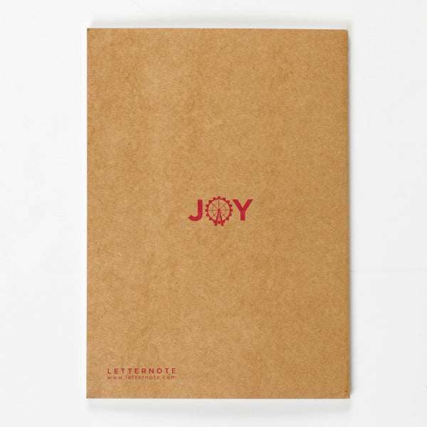 Joy Kraft NoteBook - LetterNote - 2