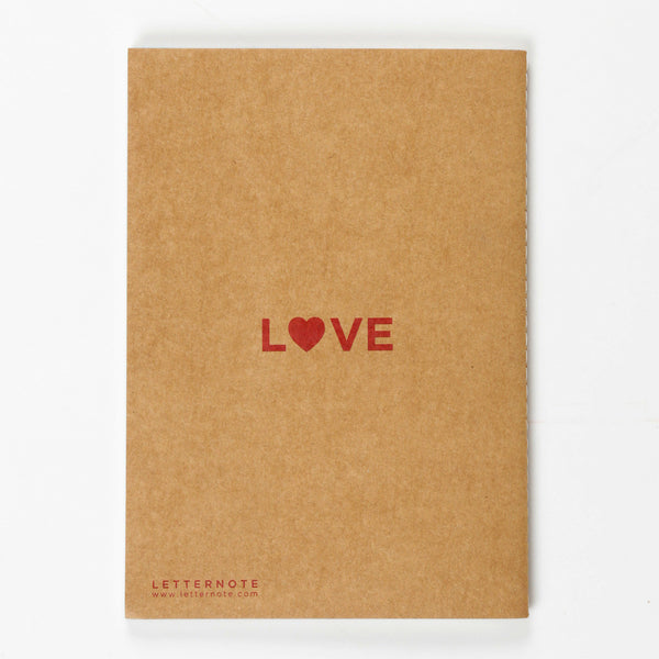 Love Kraft NoteBook - LetterNote - 2