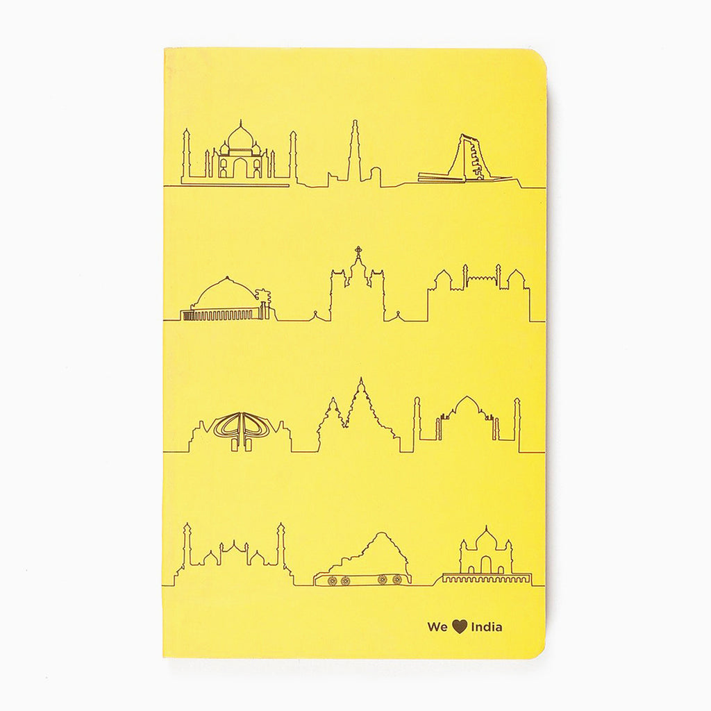 Places We Love India Vivid NoteBook