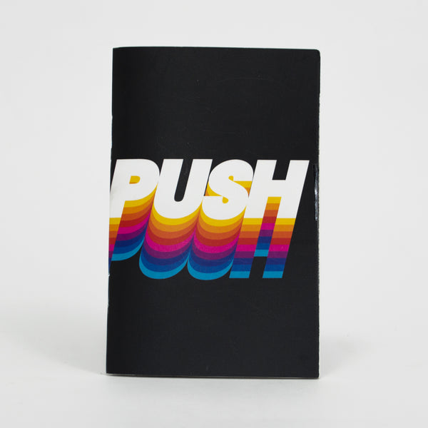Push Pocket Notebook - 3.5 IN X 5.5 IN