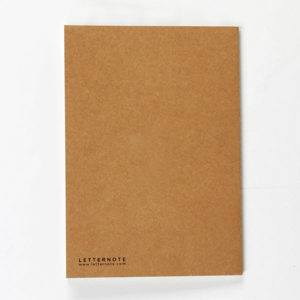 To Do Kraft NoteBook - LetterNote - 2